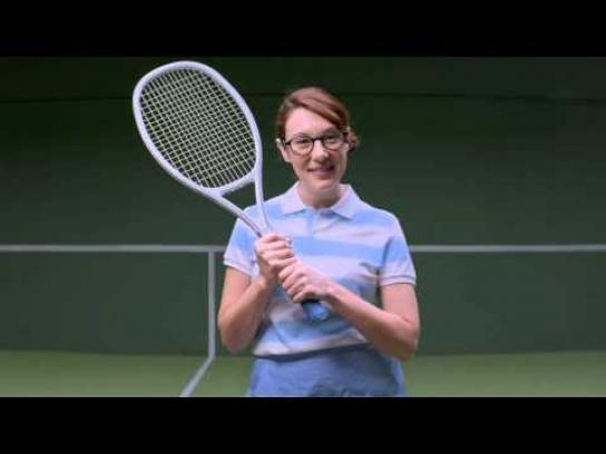 United States Tennis Association Digital Ad -  Tennis makes you smarter