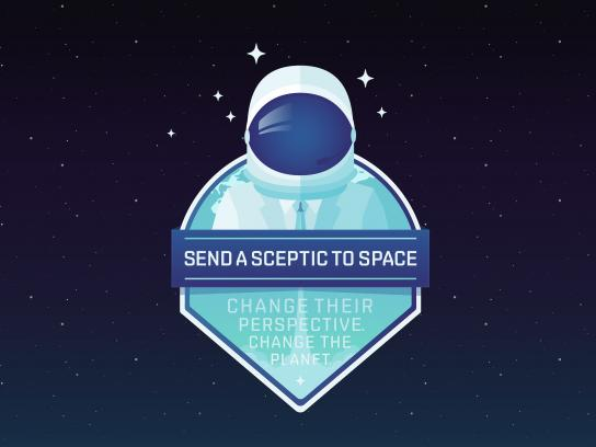 Friends of the Earth Australia Digital Ad - Send a sceptic to space