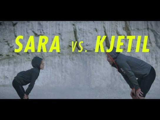 Tine Dairy Digital Ad - Kjetil vs Sara