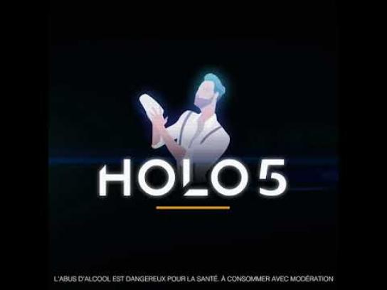 Label5 Film Ad - Holo 5, The First Hologram Bartender