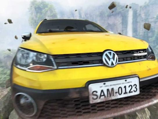 Volkswagen Ambient Ad -  Saveiro adventure