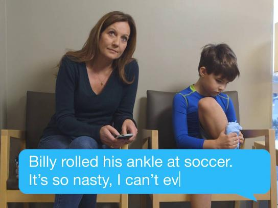 AFC Family Care Film Ad -  Ankle injury