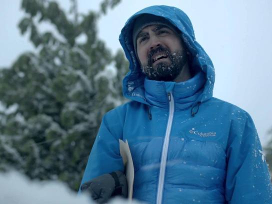 Columbia Film Ad -  Snow shovel