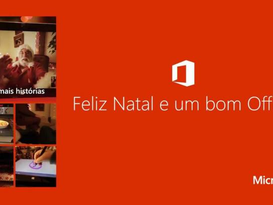 Microsoft Digital Ad -  Merry Christmas and a Happy Office