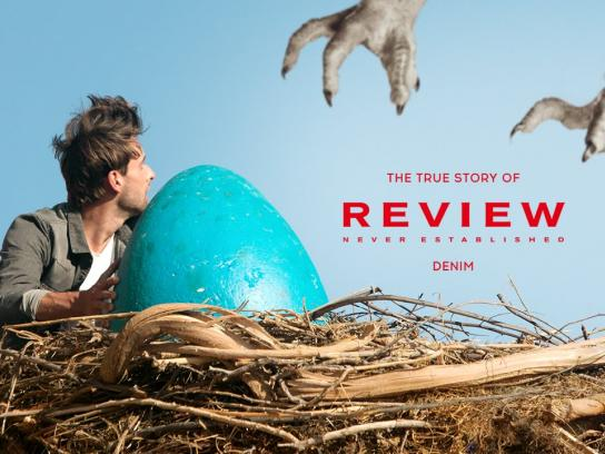 Review Digital Ad -  The true story of Review Denim
