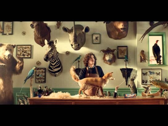 Granola Film Ad -  The Taxidermist