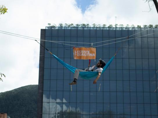 Merrell Ambient Ad -  Escape the routine