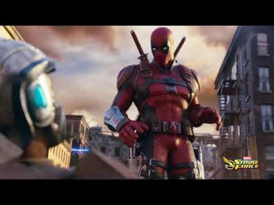 Marvel Film Ad - Deadpool and S.H.I.E.L.D. Medic Team-up - Grenade Refraction