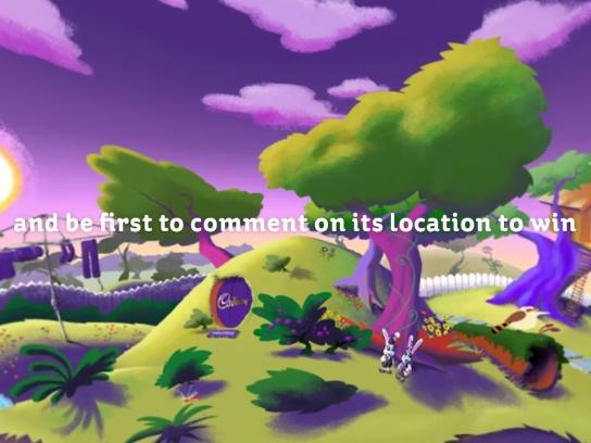 Cadbury Digital Ad - The Cadbury Live Egg Hunt