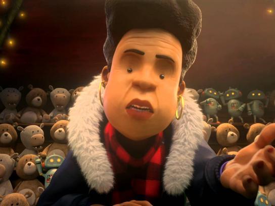 BBC Film Ad -  Sprout Boy