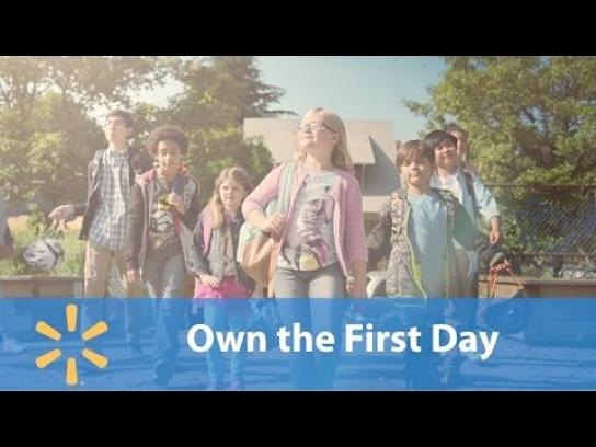 Walmart Film Ad - Own the first day