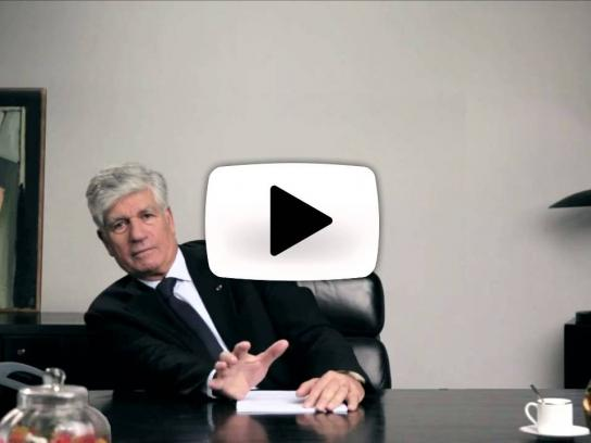 Publicis Digital Ad -  Maurice Lévy's end of year greeting video
