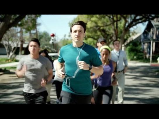 CA Technologies Film Ad - The morning run