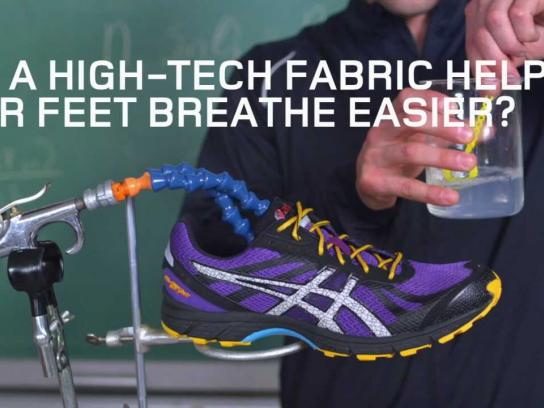 ASICS Film Ad -  Breathability Demo