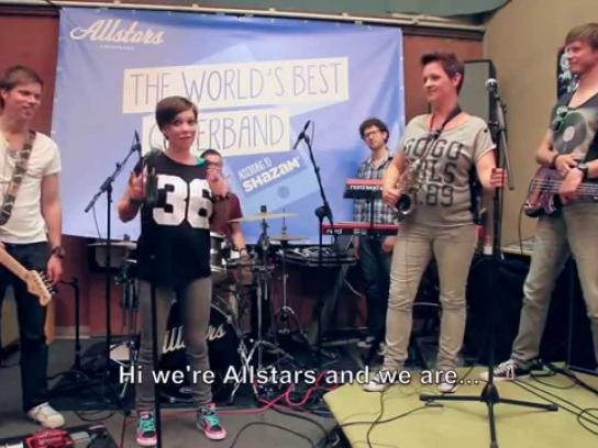 Allstars Coverband Digital Ad -  The World's Best Coverband