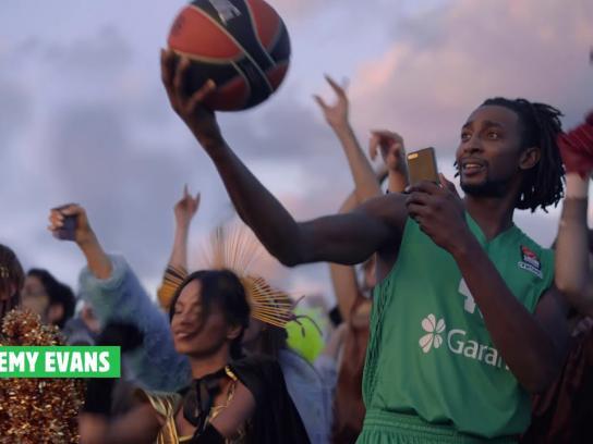 Burger King Digital Ad - Fire of Basketball  - Burger King