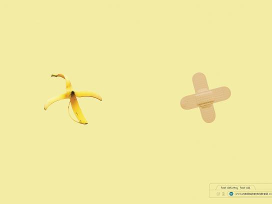 Medicamentos Brasil Print Ad - Banana