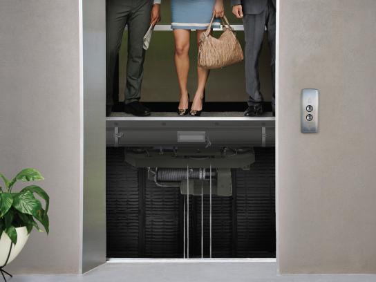MeDSPump Print Ad -  Elevator
