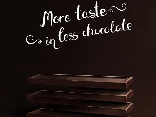 Meetty Print Ad - Intense Chocolate