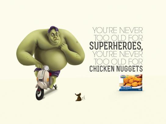 Melo Print Ad -  Hulk