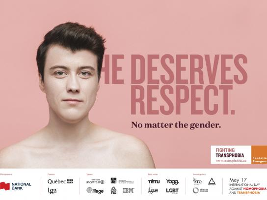 Fondation Emergence Print Ad - No Matter the Gender, 1