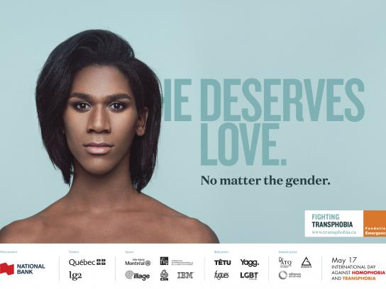 Fondation Emergence Print Ad - No Matter the Gender, 3