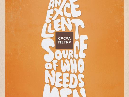 Cocoa Metro Print Ad -  Men