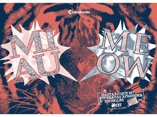 Colsubsidio Print Ad -  Meow