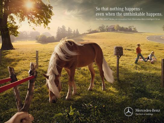 Mercedes Print Ad -  Slingshot