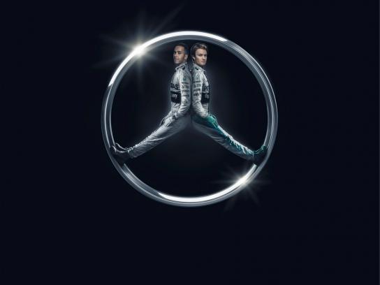 Mercedes Print Ad -  Formula Won