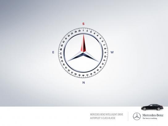 Mercedes Print Ad -  Autopilot