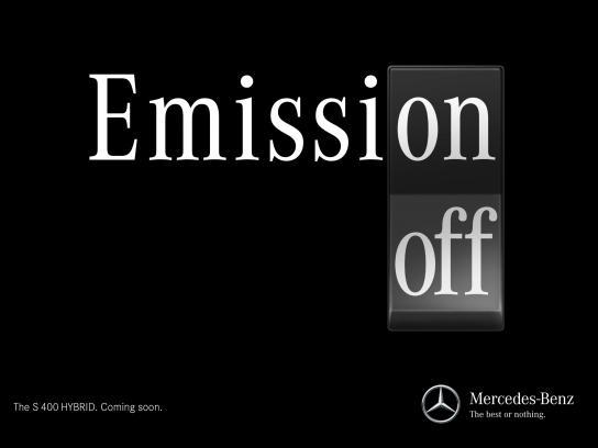 Mercedes Print Ad -  Off