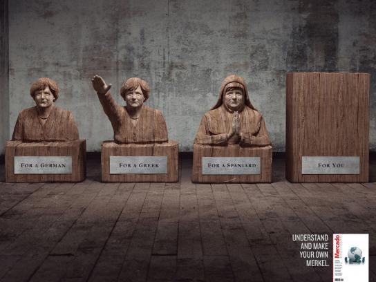 Mercado Magazine Print Ad -  Merkel