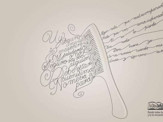tucitadebelleza.com Print Ad - Messy heads - comb