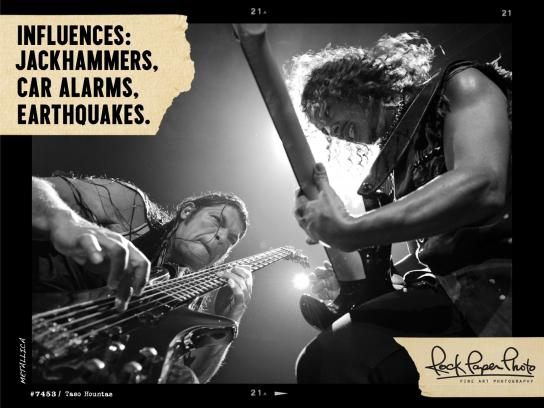 Live Nation Outdoor Ad -  Rock Paper Photo, 10