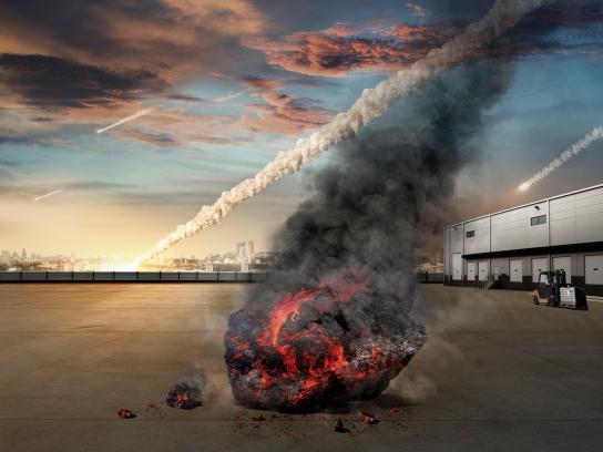 Fester Print Ad -  Meteorite