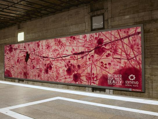 Synevo Medical Labs Outdoor Ad -  The Inner Beauty Exhibition, 1