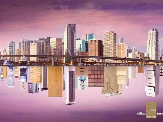 Visa Print Ad -  Miami