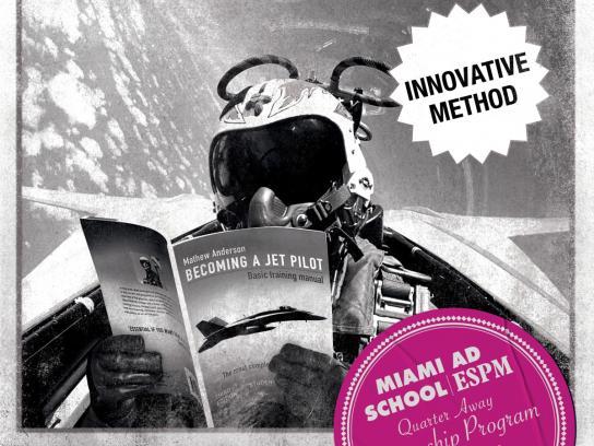 Miami Ad School Print Ad -  Pilot