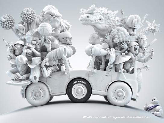 Michelin Print Ad -  USA - Japan