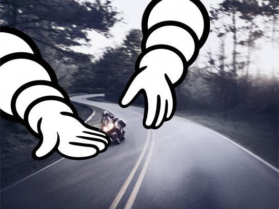 Michelin Print Ad - Michelin Safety - Bike