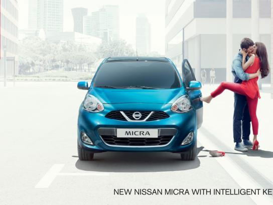 Nissan Outdoor Ad -  Kiss