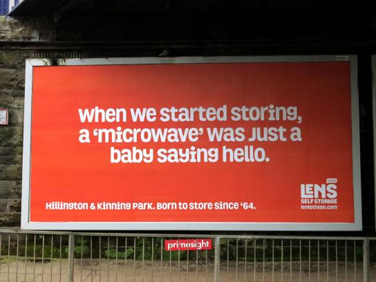 Len's Self Storage Outdoor Ad - Born To Store Since '64, 5