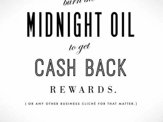 Capital One Print Ad -  Midnight oil