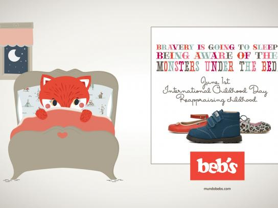 Beb's Print Ad -  International Childhood Day