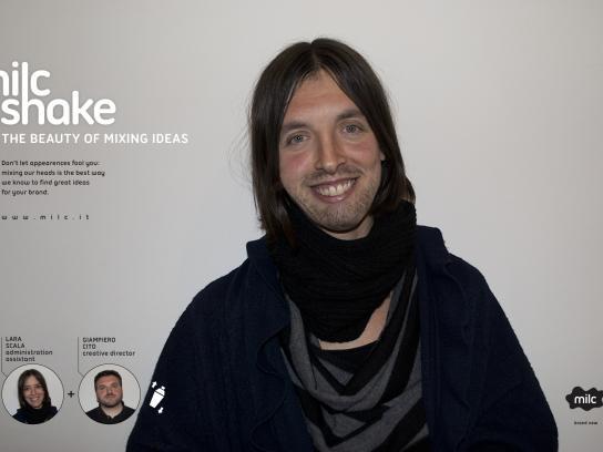 Milc Print Ad -  Milc shake, Lara Cito