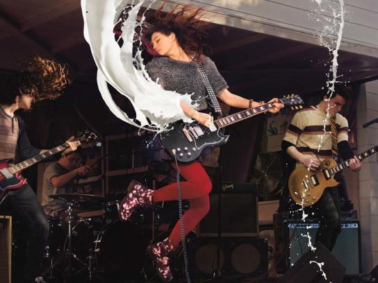 MilkPEP Print Ad -  Rock star