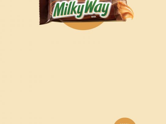 Milky Way Print Ad -  Sorry, I was eating a Milky Way, 1
