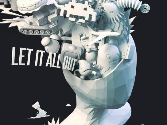 MindFull Outdoor Ad -  Let it all out, 3