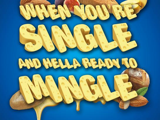 Kraft Print Ad - Mingle